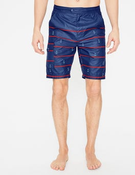 Anchor Stripe Board Shorts