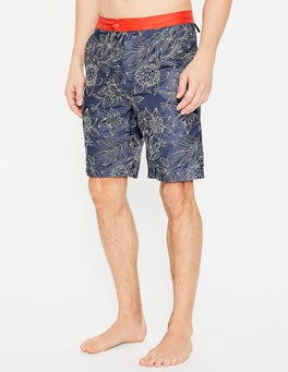 Blues Floral Board Shorts