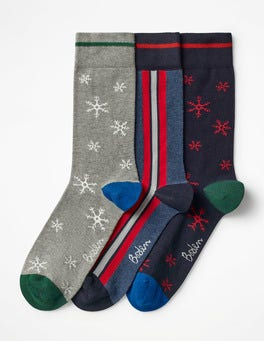 Festive Mix Pack Festive Socks