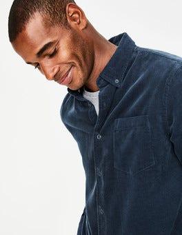 Neptune Navy Cord Shirt