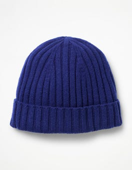 Ocean Blue Lambswool Hat