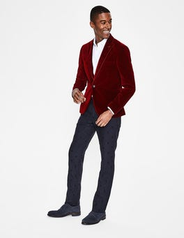Port Red Rivington Velvet Jacket