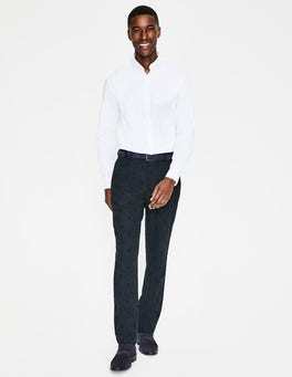 Navy Spot Barnes Trousers