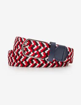 Red Multi Webbing Belt
