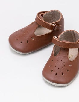 Tan Supersoft Leather Shoes