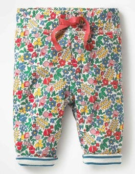 Multi Flowerbed Supersoft Reversible Pants