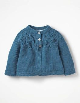 Azure Blue Cosy Cardigan
