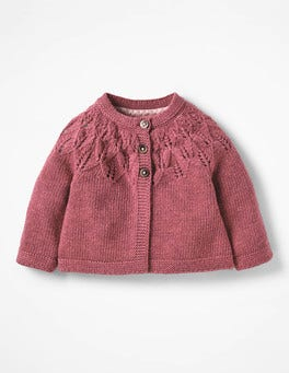 Autumn Rose Pink Cosy Cardigan