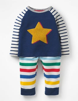 Fun Stripe Star Fun Appliqué Play Set