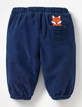 Beacon Blue Fox Pocket Pet Cord Trousers