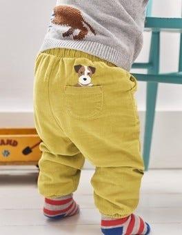 Pocket Pet Cord Pants