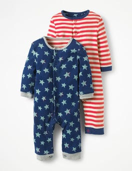 Twin Pack Fun Rompers