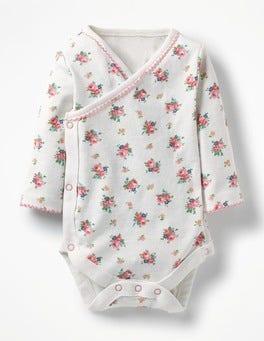 Multi Vintage Spring Pretty Wrap Bodysuit