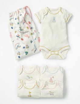 Multi Nursery 5 Pack Nursery Bodies