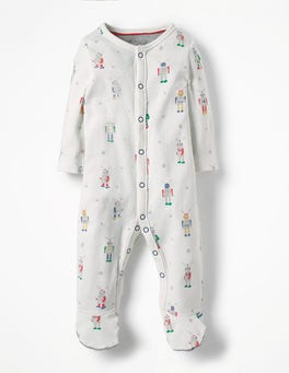 Multi Robots Fun Printed Sleepsuit
