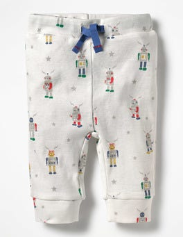 Multi Robots Fun Ribbed Leggings