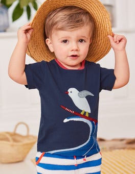 Appliqué Animal T-shirt
