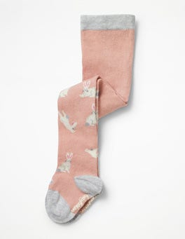 Blossom Pink Bunnies Everyday Tights