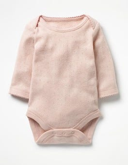 Provence Dusty Pink Supersoft Pointelle Body