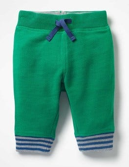 Watercress Green Essential Jersey Bottoms