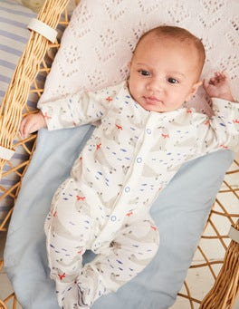 Snuggly Printed Sleepsuit