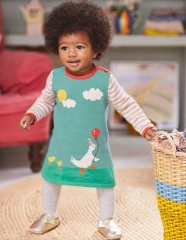 Ducklings Knitted Dress