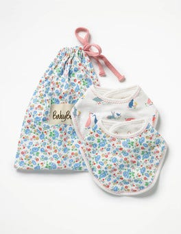 Farmyard Animals 2 Pack Dribble Bibs
