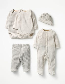 Shale Grey Farmyard Baby Gifting Set