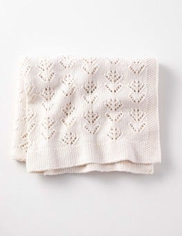 Cashmere Blend Knitted Blanket