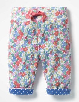 Multi Vintage Floral Supersoft Reversible Pants