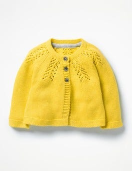 Sweetcorn Yellow Cosy Cardigan