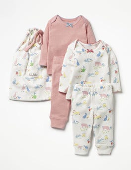 Farmyard Animals Cosy Pointelle Pack