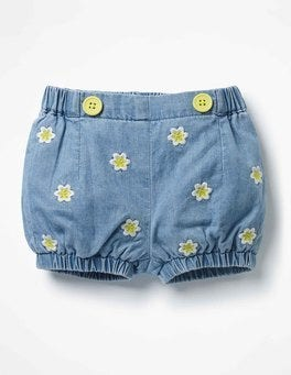 Chambray Flowers Pretty Bloomers
