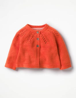 Melon Crush Orange Cosy Cardigan