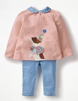 Provence Dusty Pink Sprout Animal Jersey Play Set