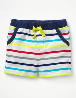 Fun Stripe Jersey Shorts