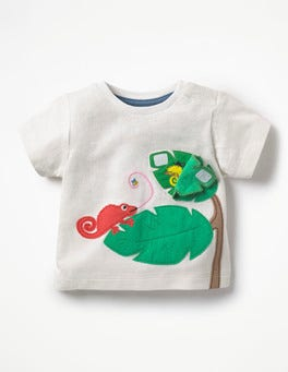Ivory Lizards Peekaboo T-shirt