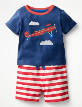 Beacon Blue/Plane Fun Jersey Play Set
