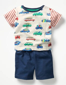 Ivory Surf Vans Fun Jersey Play Set