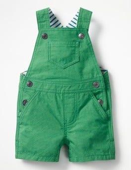 Astro Green Fun Woven Dungarees