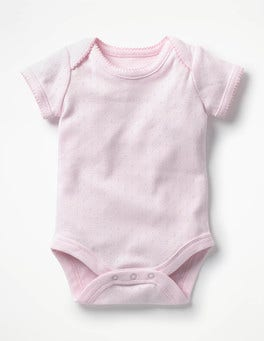 Mist Pink Sweet Pointelle Body