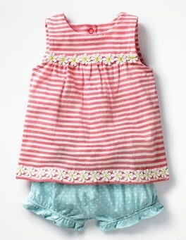 Strawberry Sorbet Pink/Ivory Sunny Days Jersey Play Set