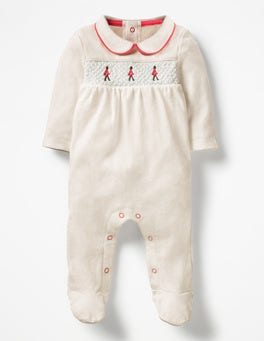 Ivory/London Guards London Sleepsuit