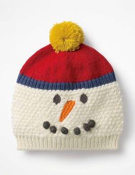 Ecru Festive Hat