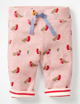 Provence Dusty Pink Robins Supersoft Reversible Pants