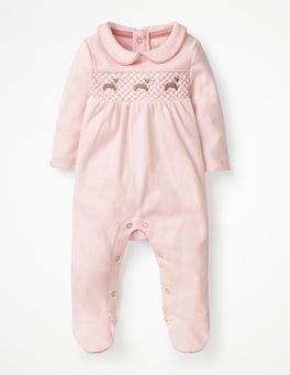 Parisian Pink/Corgis Corgis Sleepsuit