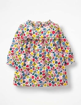 Multi Tiny Toys Printed Jersey Dress