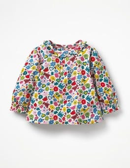 Multi Tiny Toys Printed Ruffle T-shirt