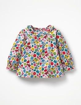 Multi Tiny Toys Printed Ruffle T-shirt