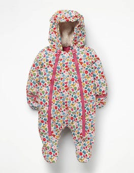 Multi Tiny Toys Printed Snowsuit
